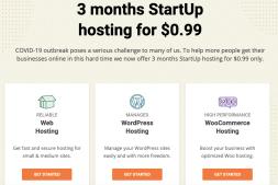 0.99美元3个月的顶级主机商SiteGround