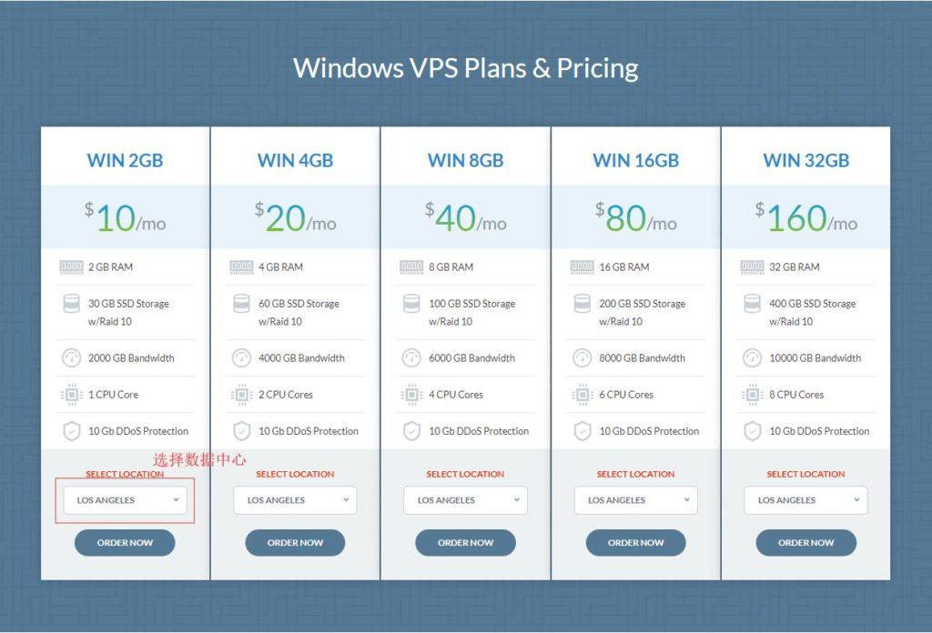免费ddos防护的IO Zoom 高性价比vps,有windows机型